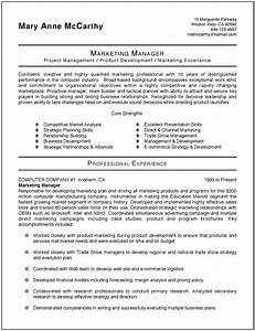 sample marketing resume sample resumes With best marketing resume templates