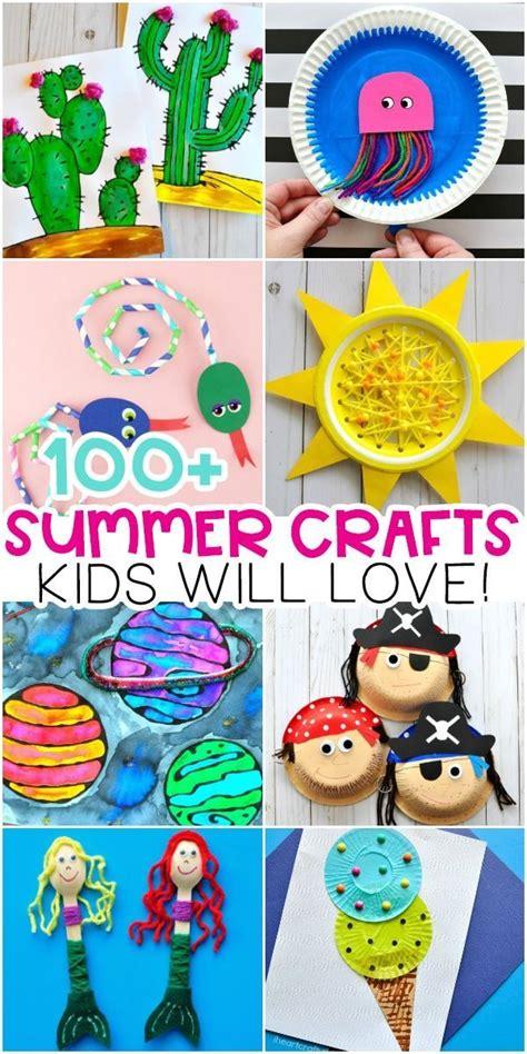 easy summer crafts  kids  arts  crafts ideas