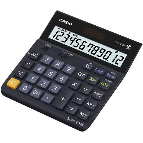 calcolatrice da ufficio calcolatrice da tavolo d 20ter casio d dh 12ter