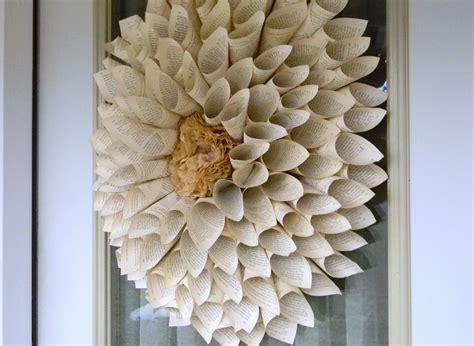 Lots of tutorials on pinterest. Artistic Endeavors 101: Coffee Filter Wreaths