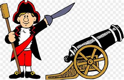 Cartoon American Revolution Clipart Weapons Clip Independence