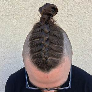 Parting Hair When Braiding A Ball 50 brilliant braided buns for men double the style 2018