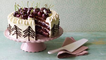 marys black forest gateau recipe bbc food
