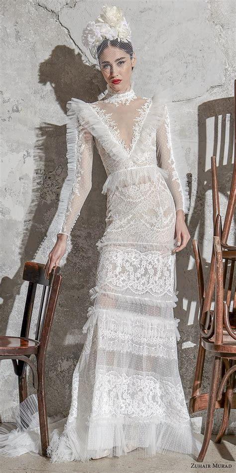 zuhair murad spring  wedding dresses wedding inspirasi