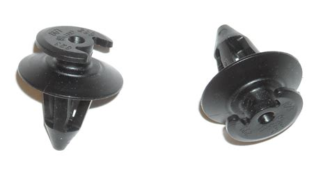 Black Metric Door Panel Clips For Porsche