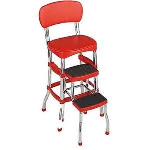 cosco retro counter chair step stool walmart