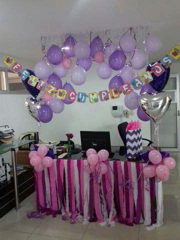 decoracion de oficina para cumplea 241 os con globos decoracion cumplea 209 os