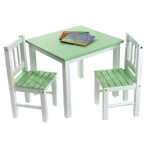 small white table and chairs lipper kids small green white table and chair set ebay