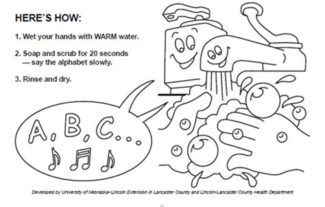 A Fun Way To Teach Kids About Hand-washing