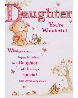 birthday cards  daughters birthday daughter ideas