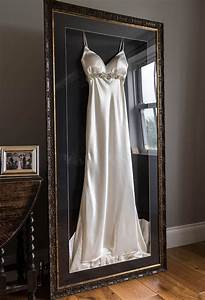frame your wedding dress and accessories with the With companies that frame wedding dresses