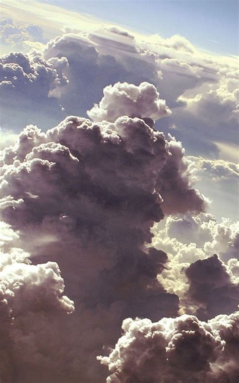 clouds artwork android wallpaper free