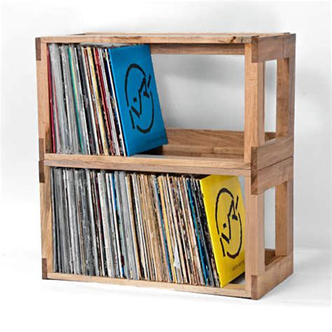 vinyl record shelf record storage ideas homesfeed 3286