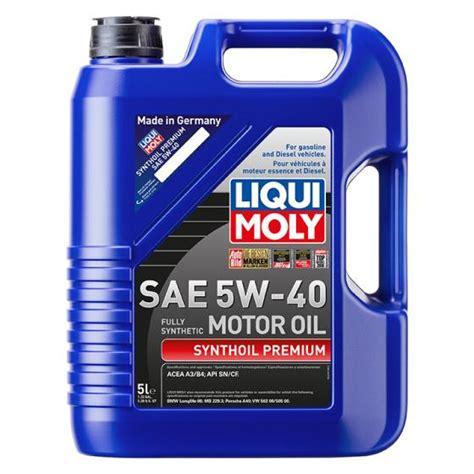 liqui moly 5w40 liqui moly synthoil premium 5w 40 vs mobil 1 turbo diesel