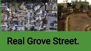 Real Grove Street Location From GTA San Andreas - YouTube