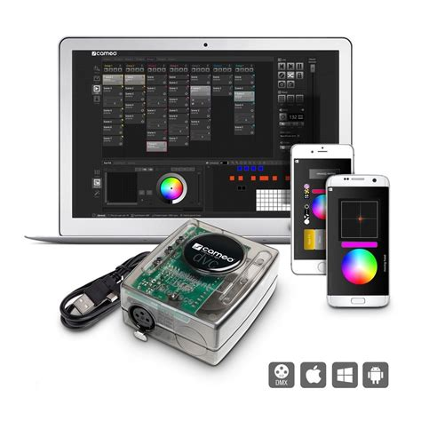 cameo dvc pro  channel usb  dmx interface
