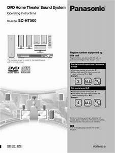 Panasonic Sc Ht 500 Home Theater Download Manual For Free