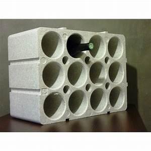 Casier à Bouteilles : casier bouteilles 12 places en polystyr ne casier bouteilles rangement atelier garage ~ Teatrodelosmanantiales.com Idées de Décoration