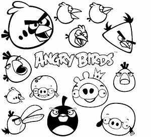 QuotAngry Birdsquot Coloring Pages