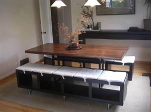 Ikea hackers le concept que vous allez adorer elle for Meuble salle À manger avec banc salle a manger