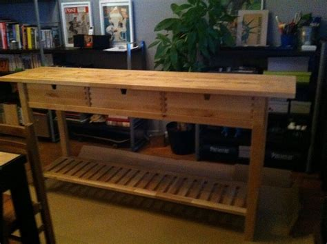 ikea forhoja  drawer console table  enfield london