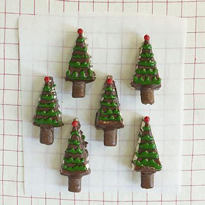 cheesecake christmas trees recipe myrecipes