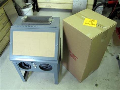 trinco 20 table top sand blasting cabinet overview pat pruitt