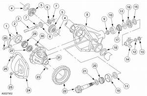 2000 F250 Front Axle Diagram