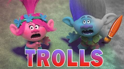 Trolls Movie Poppy Branch Coloring Book Pages Video For