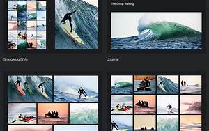 smugmug templates - photo websites in rwd mobile friendly layout website
