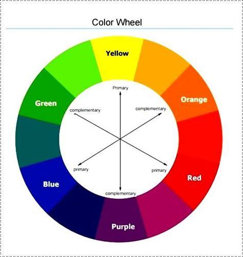 Color Wheel Template 30 Color Wheel Template Pin Color Wheel Templates On