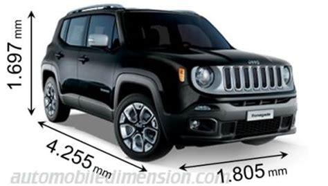 abmessungen der jeep autos mit laenge breite und hoehe