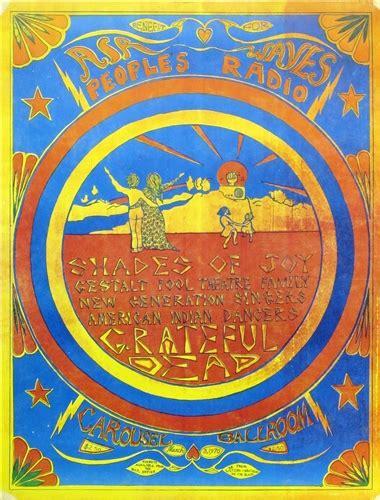 grateful dead original concert poster original concert