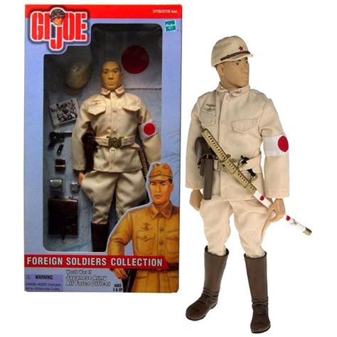 hasbro gi joe foreign soldiers collection series  tall