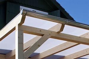 Befestigung überdachung An Sparren : terrassen berdachung aus holz glas leimholz alu bauen novum carport ~ Orissabook.com Haus und Dekorationen