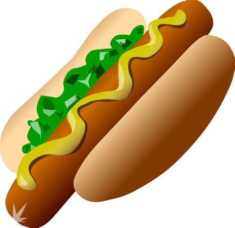 Image result for hot dog clip art