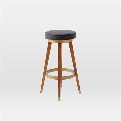 Counter Stool by Mid Century Swivel Bar Counter Stool