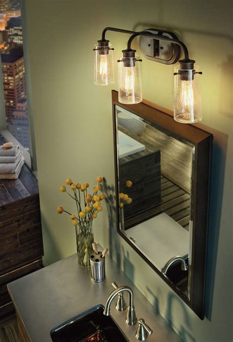 Bathroom Light Fixtures Above Mirror by Three Light Bathroom Fixture Best Ideas About Bathroom