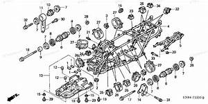 Honda Atv 2005 Oem Parts Diagram For Frame