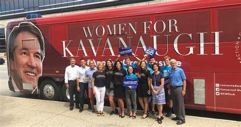 'Women' for Kavanaugh are actually a bunch of men