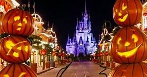 Disney World Halloween Decorations