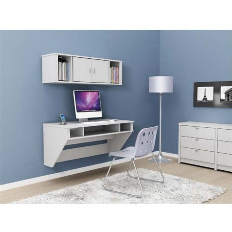 white wall mounted desk prepac designer wall mounted floating desk white wehw 0500 1