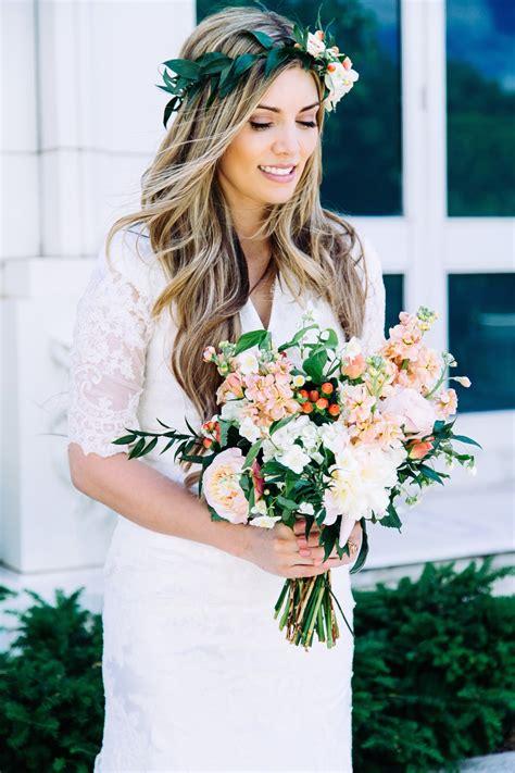 Romantic Wedding Flowers Utah Calie Rose Calie Rose