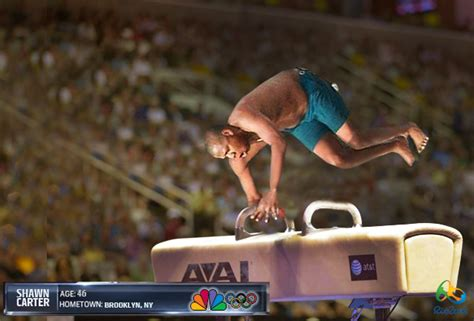Jay Z Diving Memes - rio 2016 gymnastics with shawn carter jay z diving know your meme