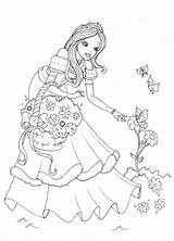 Coloring Princess Activity Child Printable Support Disney sketch template