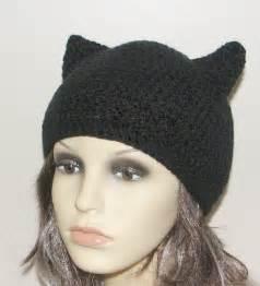 Cat Ear Hat Crochet Pattern