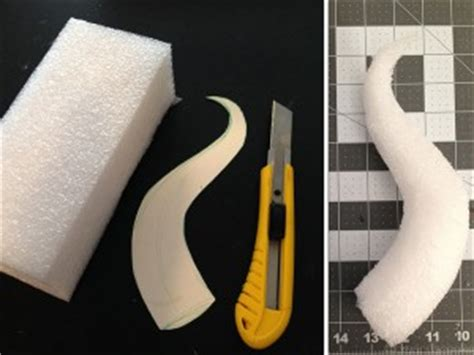Troll Horn Templates by How To Make Maleficent Horns Breanna Cooke