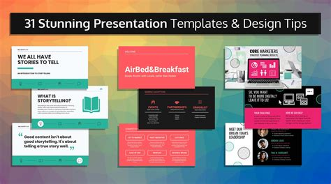 stunning  templates  design tips