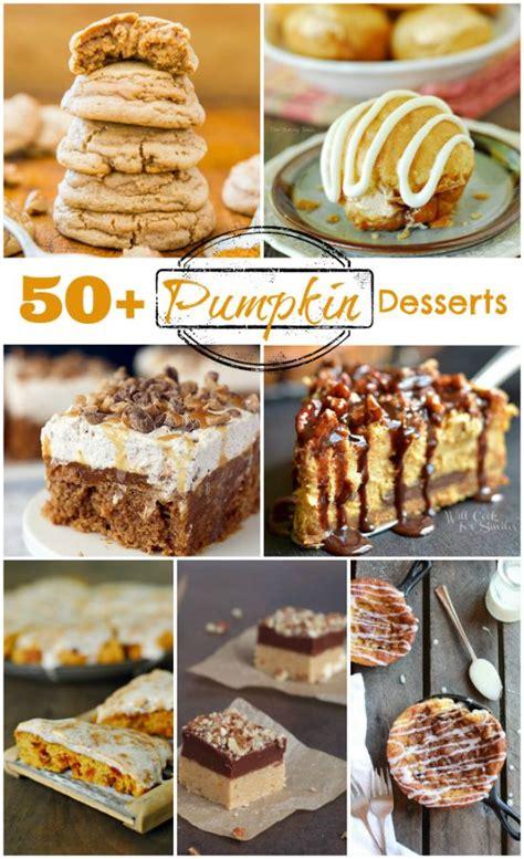 50 Pumpkin Recipes Desserts