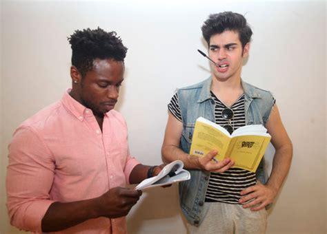 male polish play reading puts men   nail salon